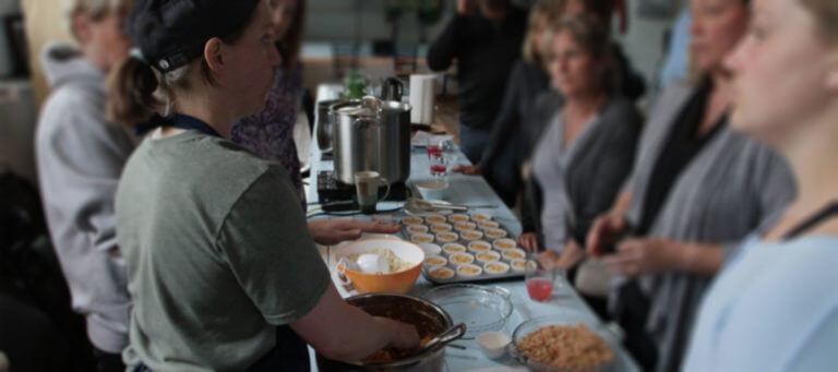 Grates Cove Studios Cooking Classes Masthead